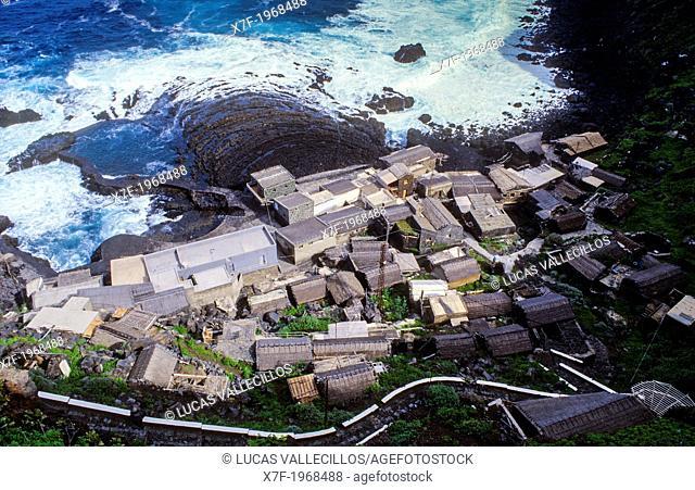 Pozo de las calcosas, El Mocanal, El Hierro, Canary Island, Spain, Europe