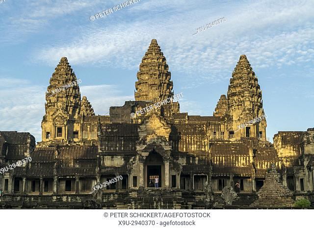 Angkor Wat temple complex, Cambodia, Asia