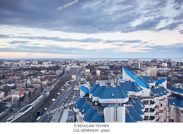 Cityscape, Odessa, Odessa Oblast, Ukraine, Europe