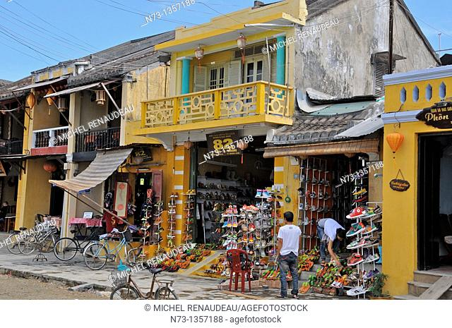 Vietnam, Quang Nam, Hoi An ancient town, declared World Heritage by UNESCO