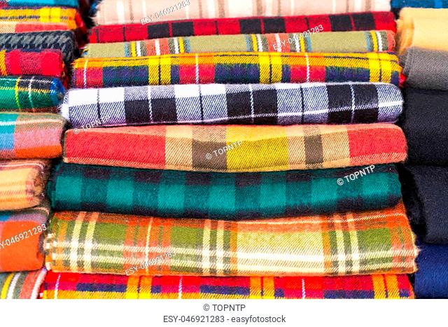 scottish clothes - Boost up color Processing