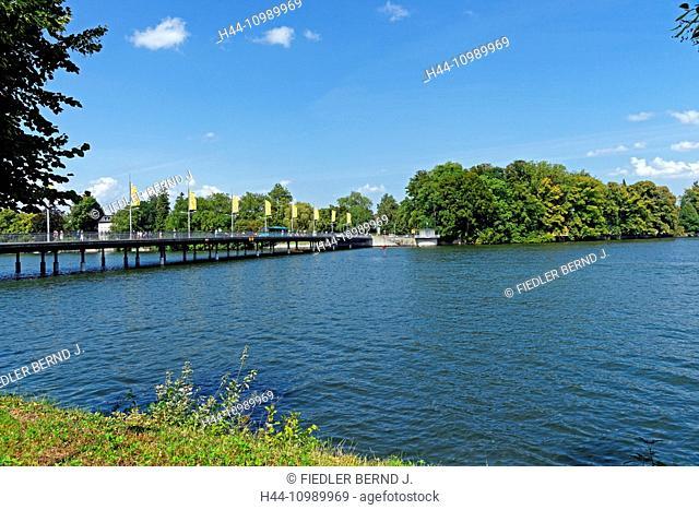 Bridge in Lindau on Lake Constance