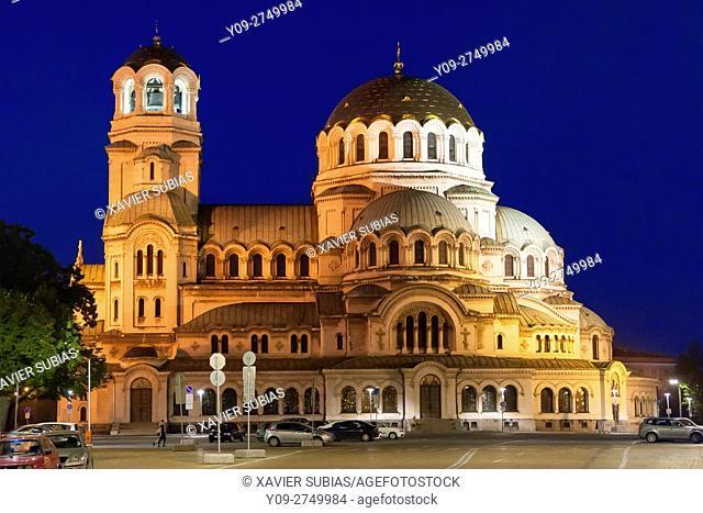 St. Alexander Nevsky Patriarchal Cathedral Memorial Church, Sofia, Bulgaria