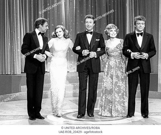 Danke Robert Stolt, Fernsehshow, Deutschland 1980, Moderation: Peter Alexander, Gaststars: Harald Juhnke, Milva, Anneliese Rothenberger, Hermann Prey