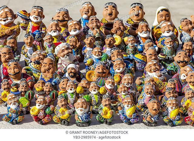 Colourful Souvenirs For Sale, Bukhara, Uzbekistan
