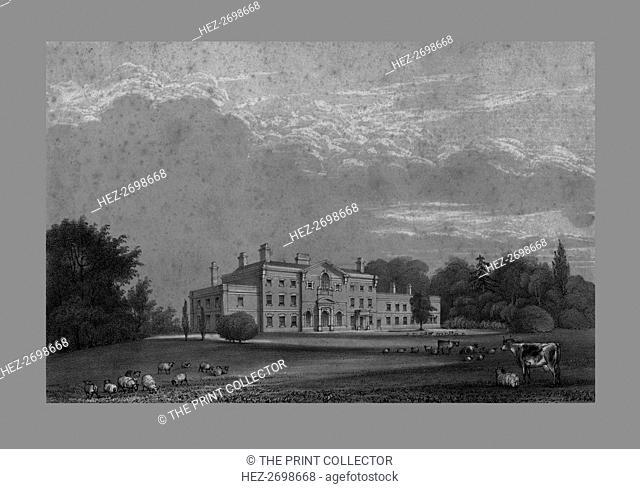 Lawton Hall, c1847. Creator: Unknown