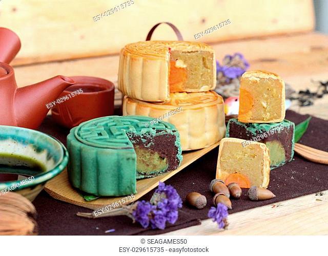 Festival moon cake - china dessert