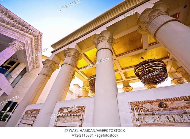 United Arab Emirates, Dubai, Wafi mall, Central Court