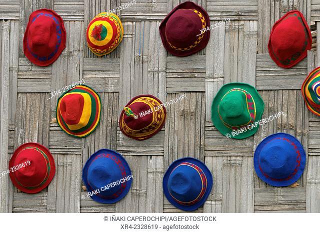 Dorze hats, Chencha, Oromia Region, Ethiopia
