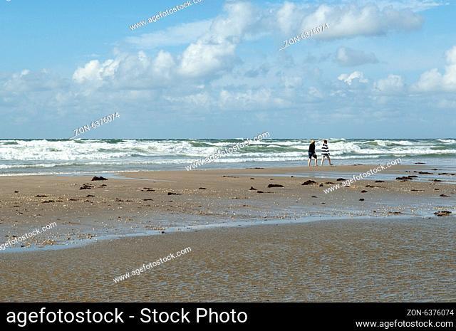 Strand, Roemoe, Daenemark, Badestrand