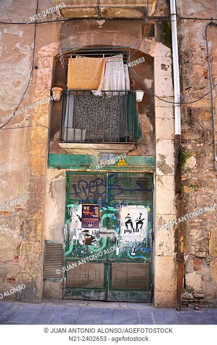 Old quarter. Tarragona, Catalonia, Spain, Europe