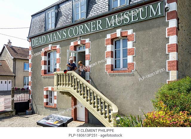 Dead Man's Corner museum, WW2 museum at Saint-Côme-du-Mont, Saint-Lô, Normandy, France