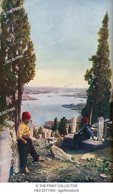 'Constantinople', early 19th century, (c1930s). Artist: Richard Thomas Underwood