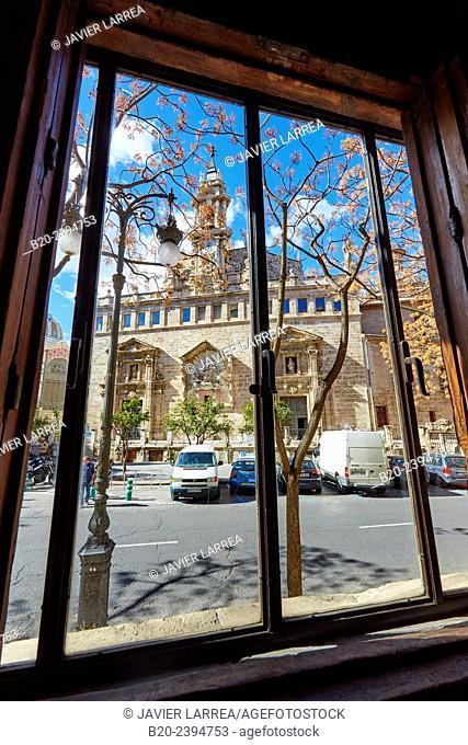 Parroquia Santos Juanes. La Lonja de la Seda. Valencia. Comunidad Valenciana. Spain