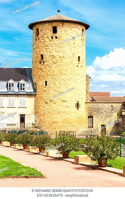 Charlieu, Department Loire, Rhone-Alpes, France