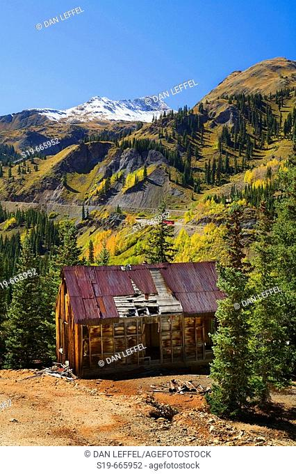 Ouray, Million Dollar Highway, Colorado, USA
