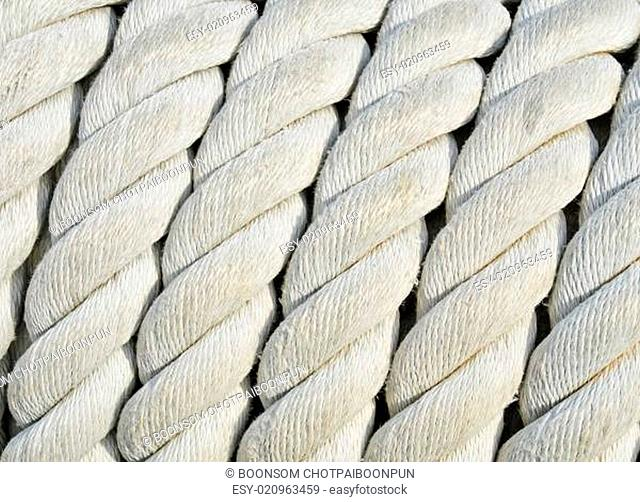 Twisted rope pattern
