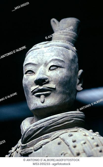 Terracotta Warrior, Xian, Shaanxi, China