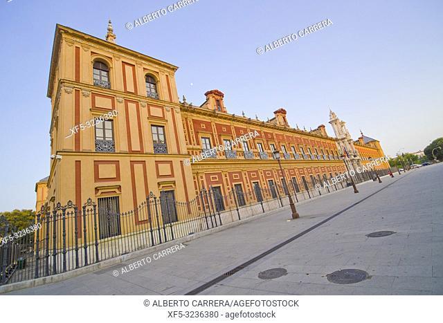 Palacio de San Telmo, Sevilla, Andalucía, Spain, Europe