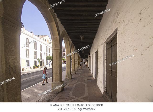 Cityscape in Ronda, Andalusia, Spain