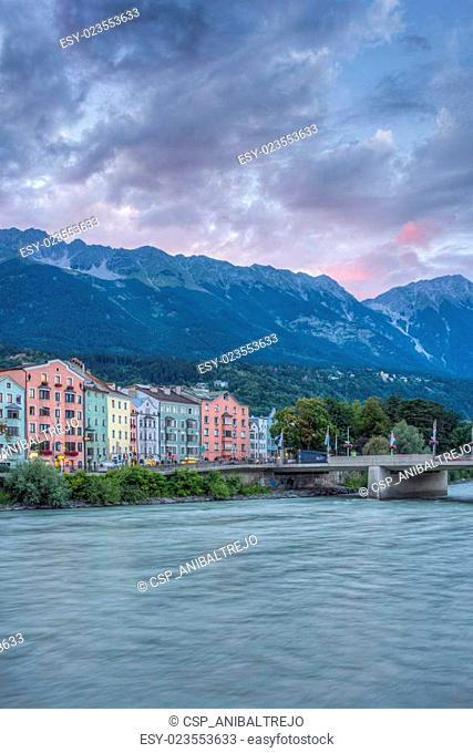 Mariahilf Street in Innsbruck, Austria