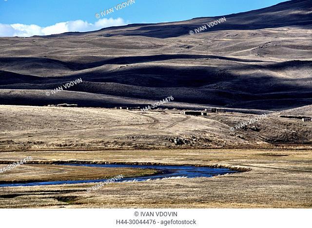 Mountain valley landscape, Martuni, Gegharkunik province, Armenia