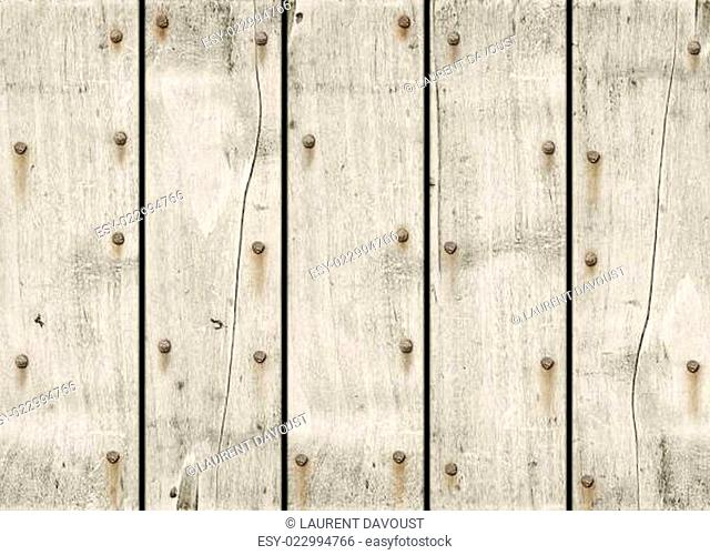 Old white wood background texture