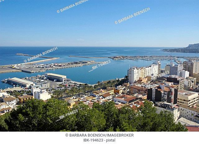 Port of Denia, Costa Blanca, Spain