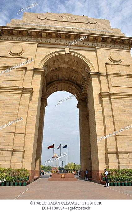 Indian Gate New Delhi, India