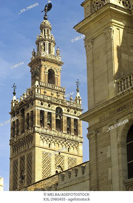 La Giralda. Seville. Andalusia. Spain