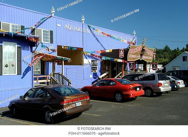 Newport, OR, Oregon, Pacific Ocean, Pacific Coast Scenic Byway, Rt Route, Highway 101, Aquarium Village