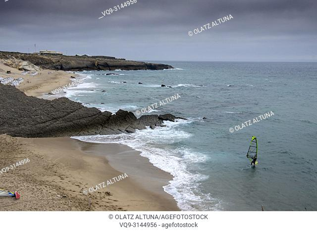 Praia do Cresmina beach, Guincho, Cascais, Portugal