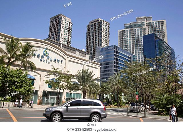 Streetscape at Rockwell, Makati, the Philippines