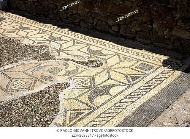 Etruscan ruins, Roselle, Grosseto, Tuscany, Italy, Europe