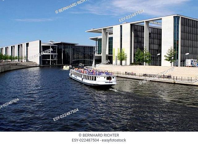 Regierungsviertel in Berlin