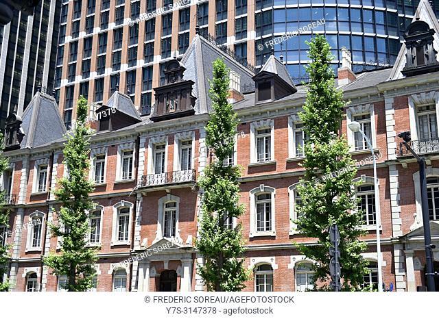 Tokyo station building, Japan, Asia