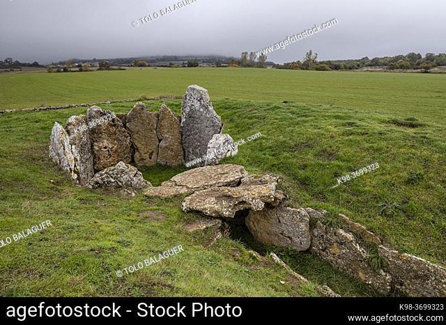 Dolmen of the Cotorrita, Neolithic burial chamber, municipality of Los Altos, Las Merindades, Burgos, Spain