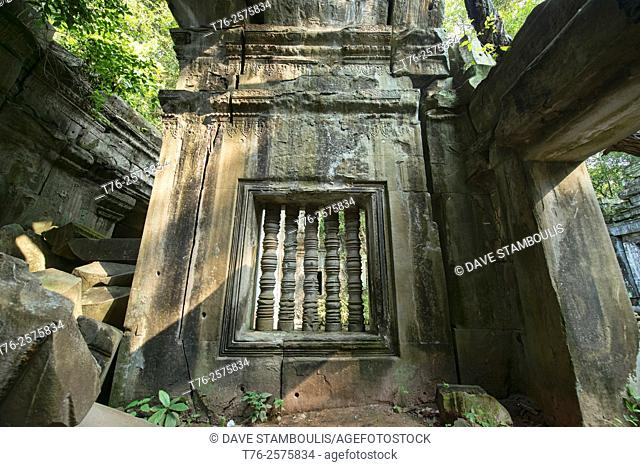 The hidden jungle temple of Beng Mealea, Siem Reap, Cambodia