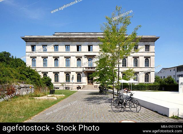 College of Music, University of Music and Theater, former Führer building of the NSDAP, Königsplatz, Munich, Upper Bavaria, Bavaria, Germany, Europe