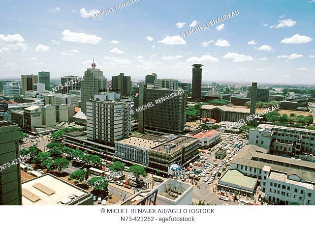 Downtown. Nairobi. Kenya