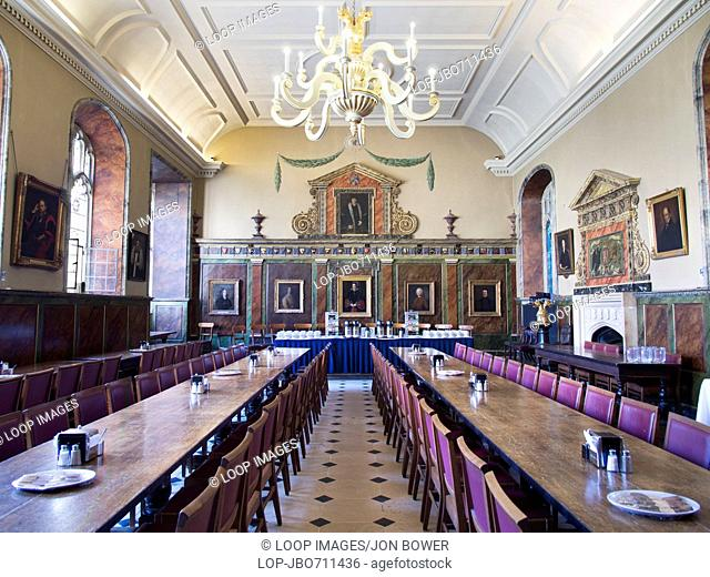 The Dining Hall of Trinity College