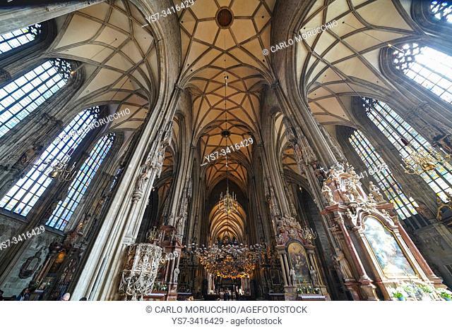 St. Stephen's Cathedral, Vienna, Wien, Austria, Europe