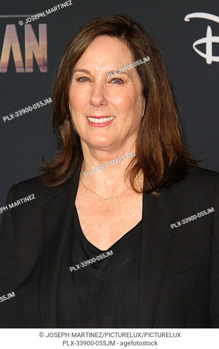 """Kathleen Kennedy at """"""""The Mandalorian"""""""" Premiere held at El Capitan Theatre in Hollywood, CA, November 13, 2019. Photo Credit: Joseph Martinez / PictureLux"""