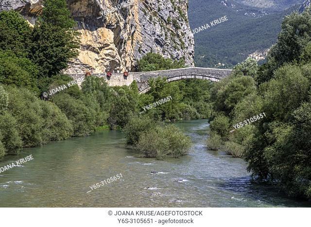 Castellane, Alpes-de-Haute-Provence, Provence, France