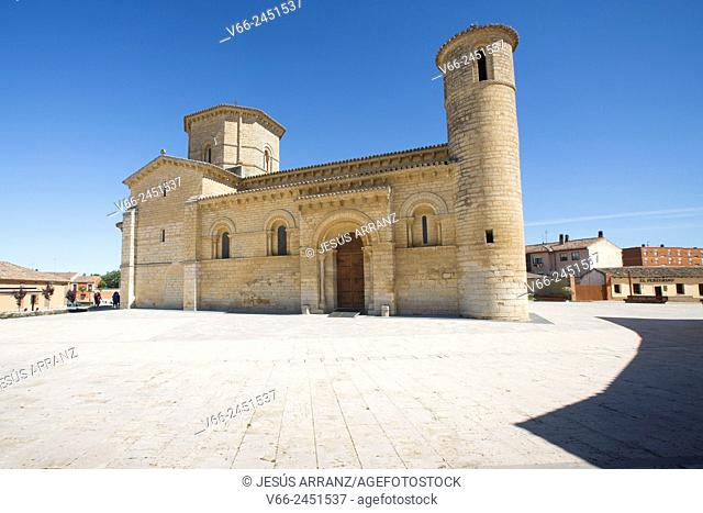 Church of San Martin, Romanesque style, 11th Century. Fromista. Province of Palencia, Castile-Leon, Spain