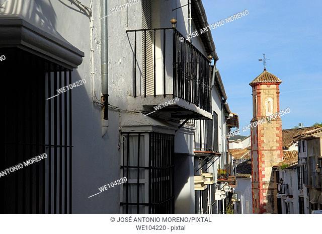Grazalema, 'Pueblos Blancos' (white towns), Sierra de Grazalema Natural Park, Cadiz province, Andalusia, Spain