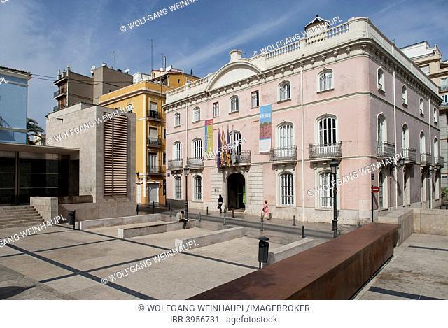 Plaza de la Almoina, Valencia, Spain
