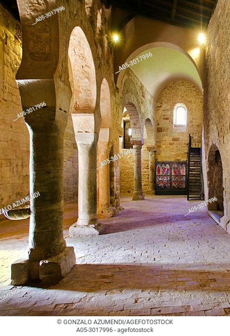 Suso monastery VI-Xthe century. UNESCO World Heritage. San Millan de la Cogolla. La Rioja. Spain
