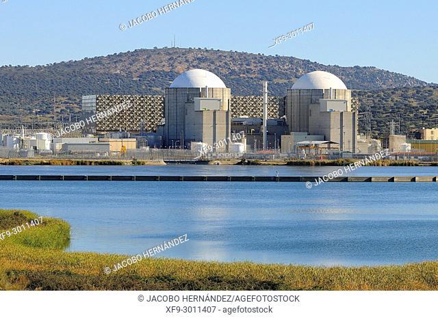 Nuclear Power Plant of Almaraz. Cáceres province. Extremadura. Spain