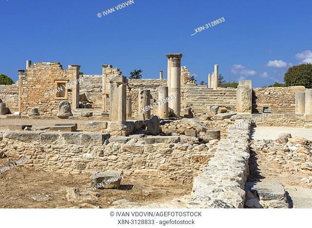 ancient Greek city Kourion, near Limassol, Cyprus
